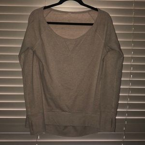 Lululemon Cozy Sweatshirt Top